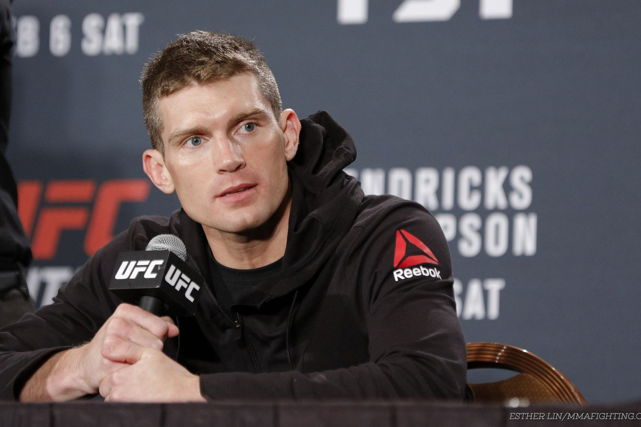'Wonderboy' Thompson: Robbie Lawler 'just wasn't there' in KO loss to Tyron Woodley