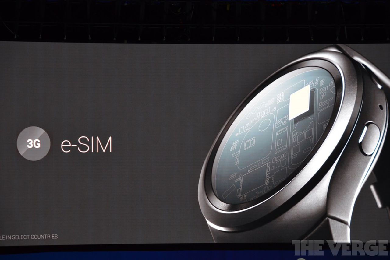 Samsung is launching an eSIM variant of the Gear S2 in March