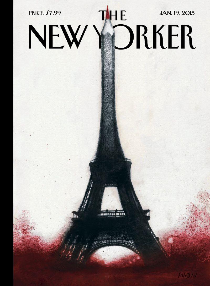 New Yorker Charlie Hebdo