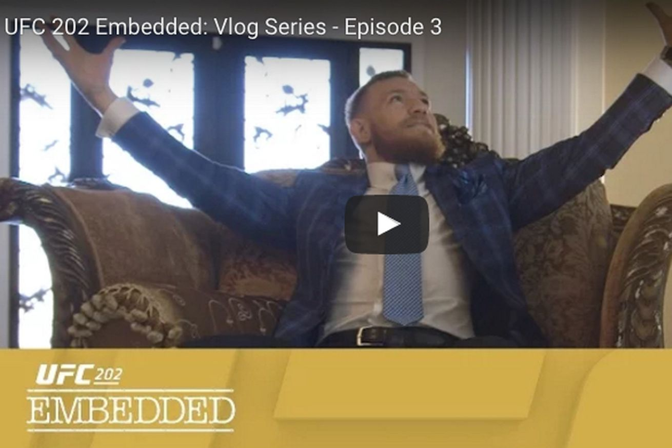 UFC 202 Embedded video, Ep. 3: 'Lets get this show on the road!