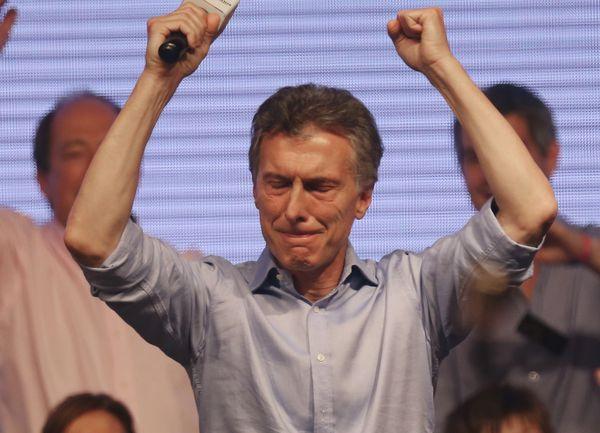 Argentinian president-elect Mauricio Macri.