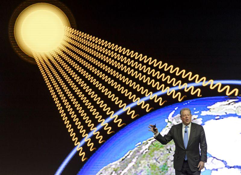 Al Gore campaign poster
