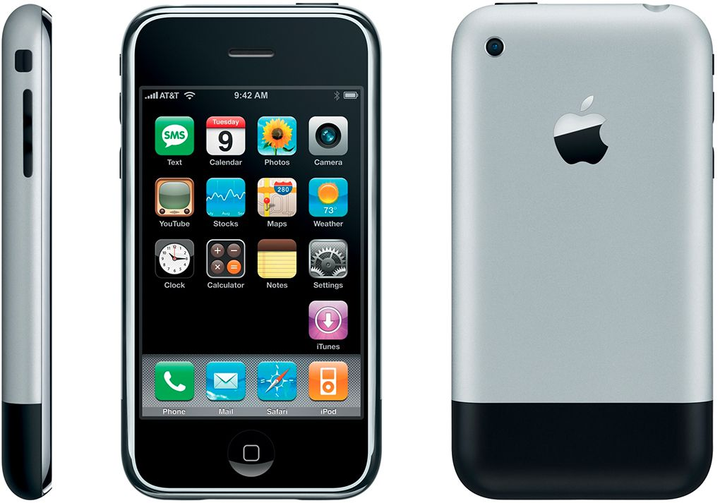 the very first iphone throwbackthursday the iphone mobile phones 16268