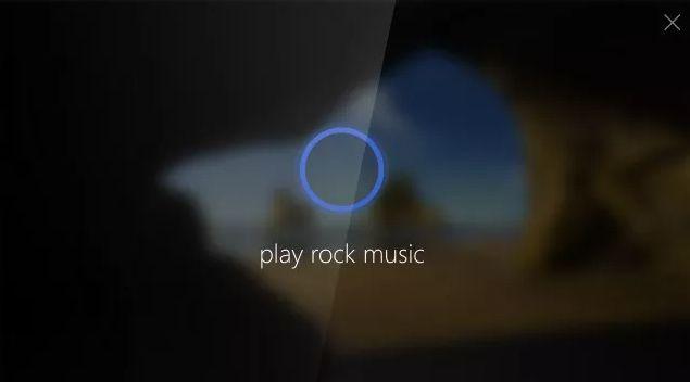 Cortana lock screen new