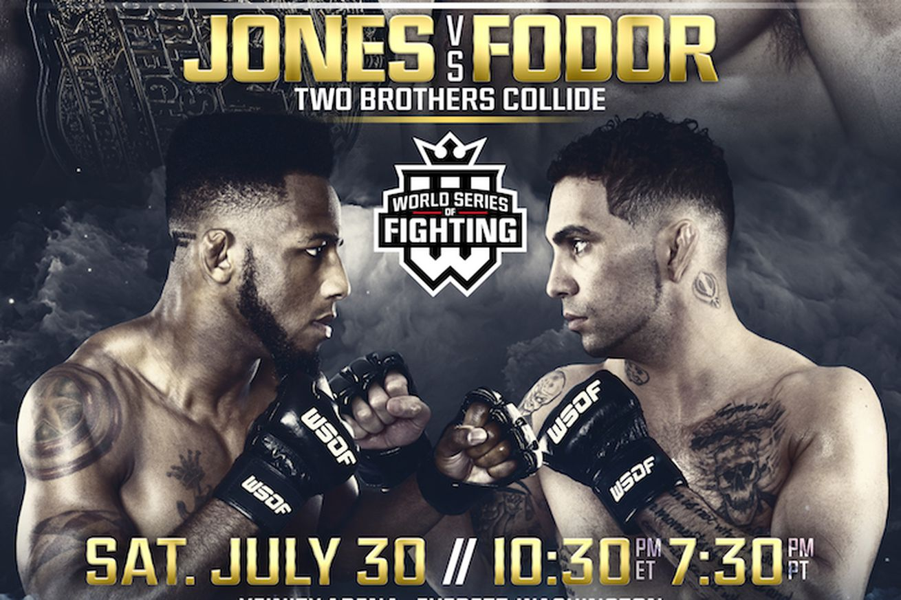 WSOF 32: Brother vs brother clash added to July 30 event on NBCSN