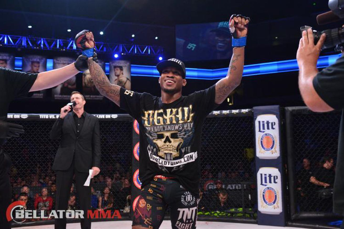 community news, Bubba Jenkins 'disappointed' next fight is on Bellator prelims, but using it to his advantage