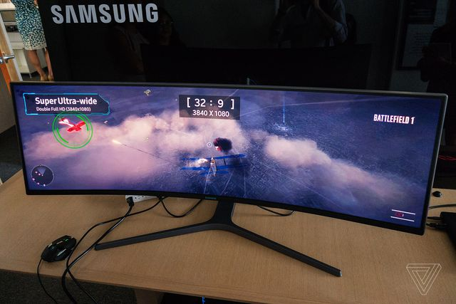 Samsungs 49 Inch Ultrawide Curved Display Is Basically Just Half A