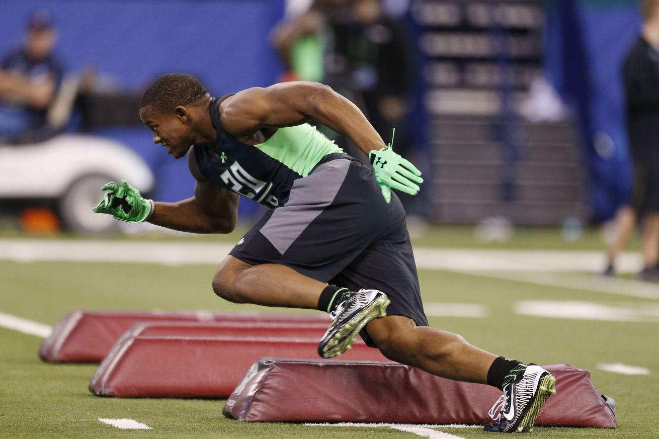 Derrick Henry's 40-Yard Dash Time Opens Eyes At NFL Combine