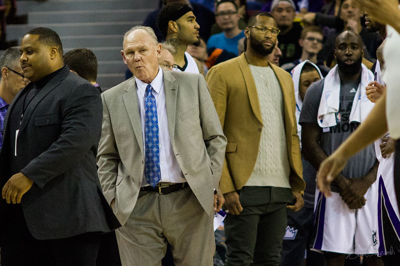 Karl coaching Kings amid reports he could be fired
