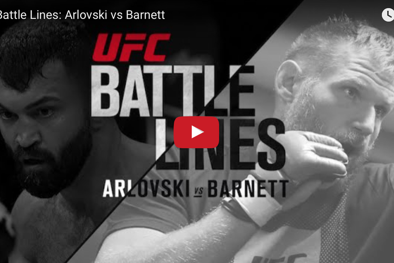 Andrei Arlovski vs Josh Barnett Battle Lines video preview for UFC Fight Night 93 in Germany