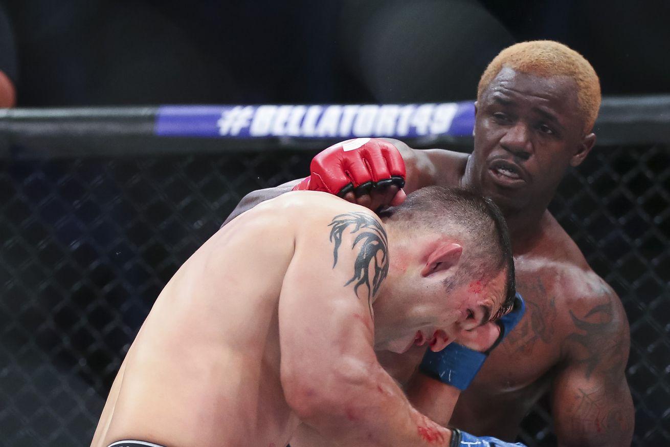 community news, Bellator 159 highlights: Watch Melvin Guillard brutalize Dave Rickels via first round TKO