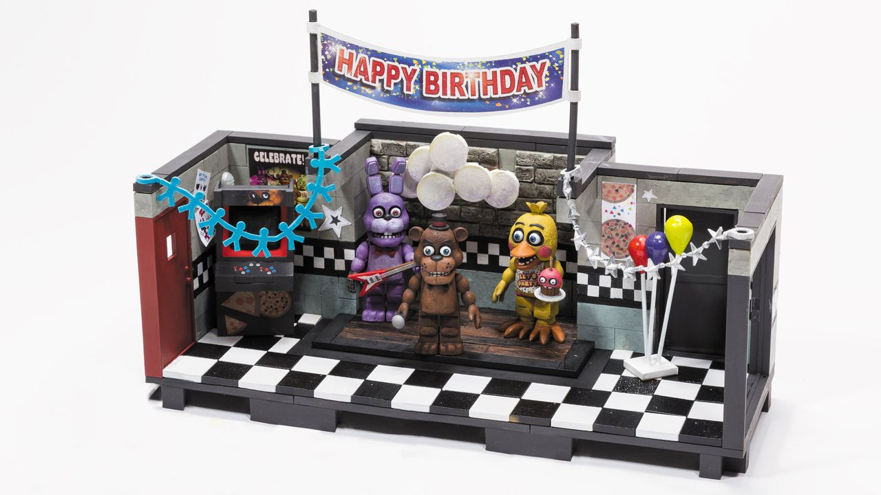 five nights at freddy 39 s play sets coming from mcfarlane toys polygon. Black Bedroom Furniture Sets. Home Design Ideas