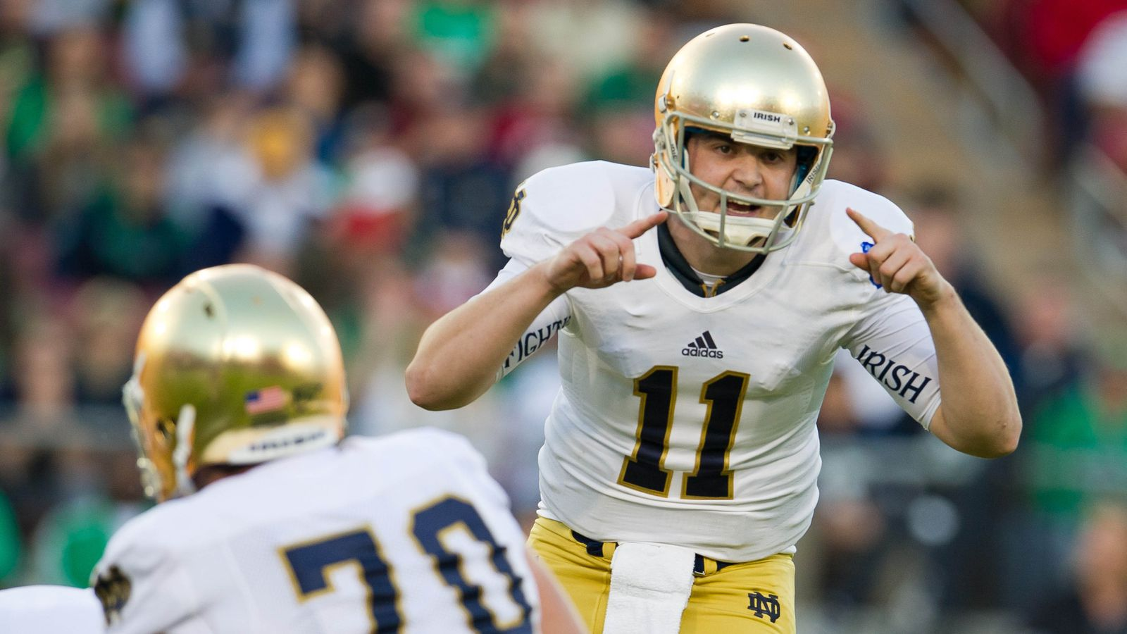 any bowl games tonight who won the notre dame football game today