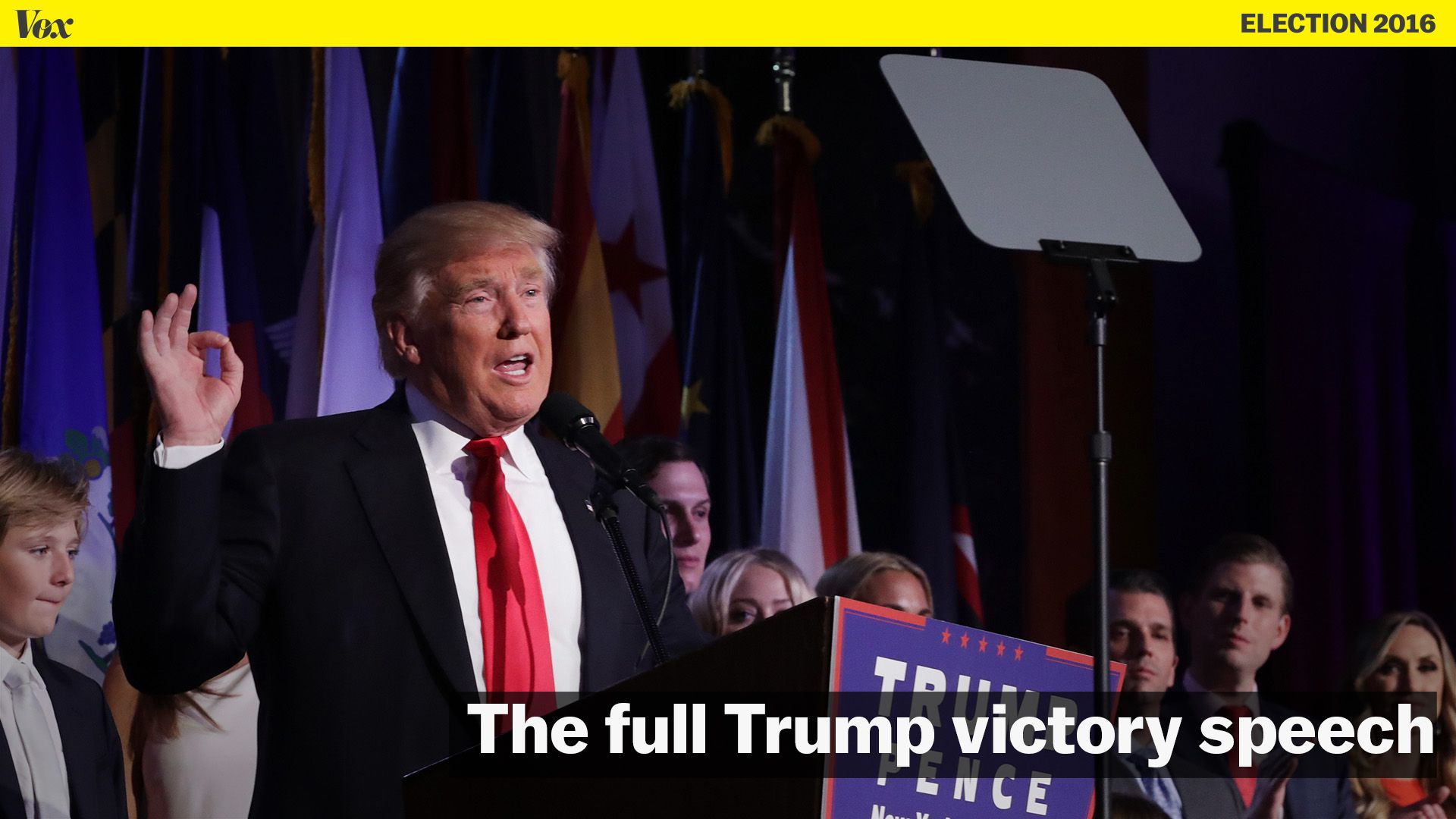 Donald Trump wins 2016 presidential election: victory speech, full transcript
