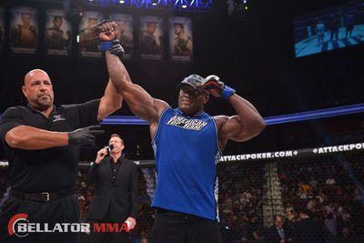 At nearly 39, pro wrestler Bobby Lashley still has title dreams in MMA