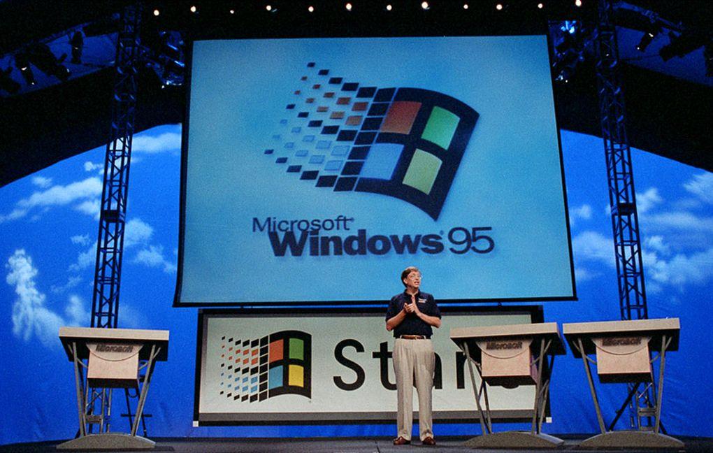 Windows95から20周年、ストーン...