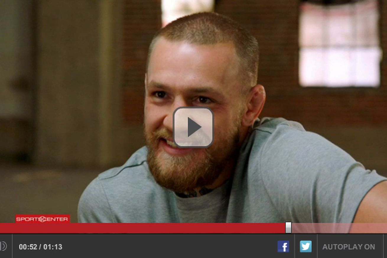 Video: Conor McGregor breaks silence, issues first comments following dinner with Dana White