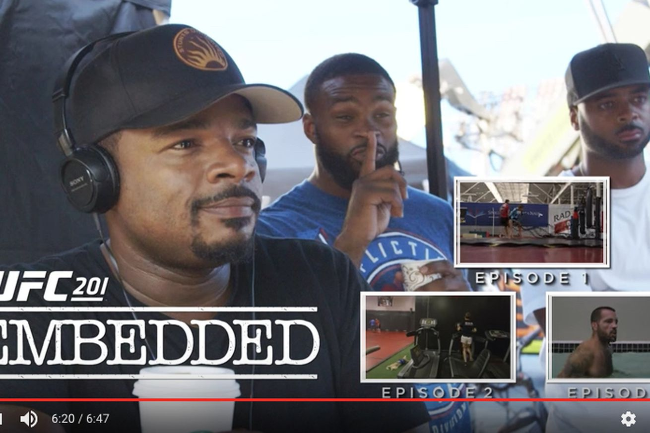 community news, UFC 201 Embedded video, Ep. 4: Quiet! On the set of 'Fast 8'