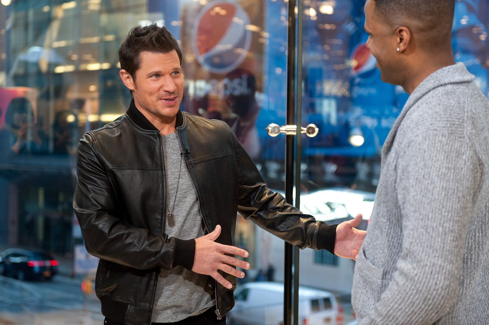 Nick Lachey, who has rights to one of Ohio's marijuana farms, speaks to Extra.