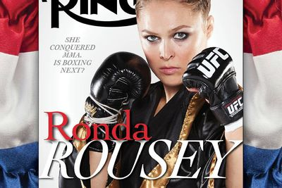 community news, Pic: UFC champ Ronda Rousey lands cover of Ring Magazine, boxing fans lose their s  t