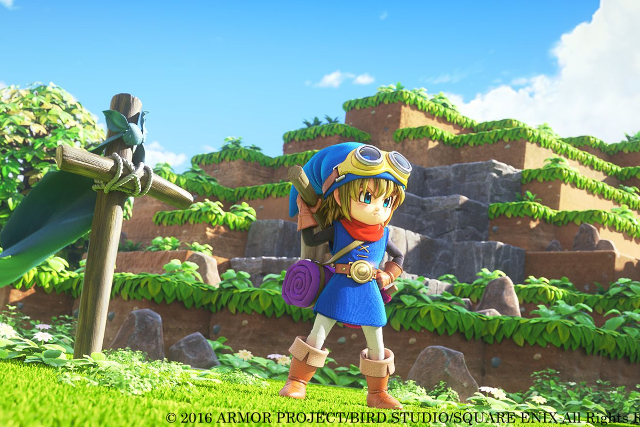 Minecraft-like Dragon Quest Builders is launching in October
