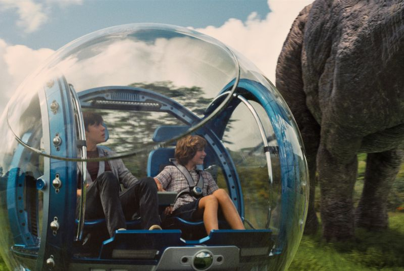 Why did Steven Spielberg invent a new dinosaur for Jurassic World?