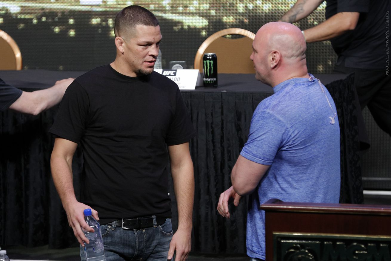 Nate Diaz responds to Dana White's infamous 'needle mover' remark