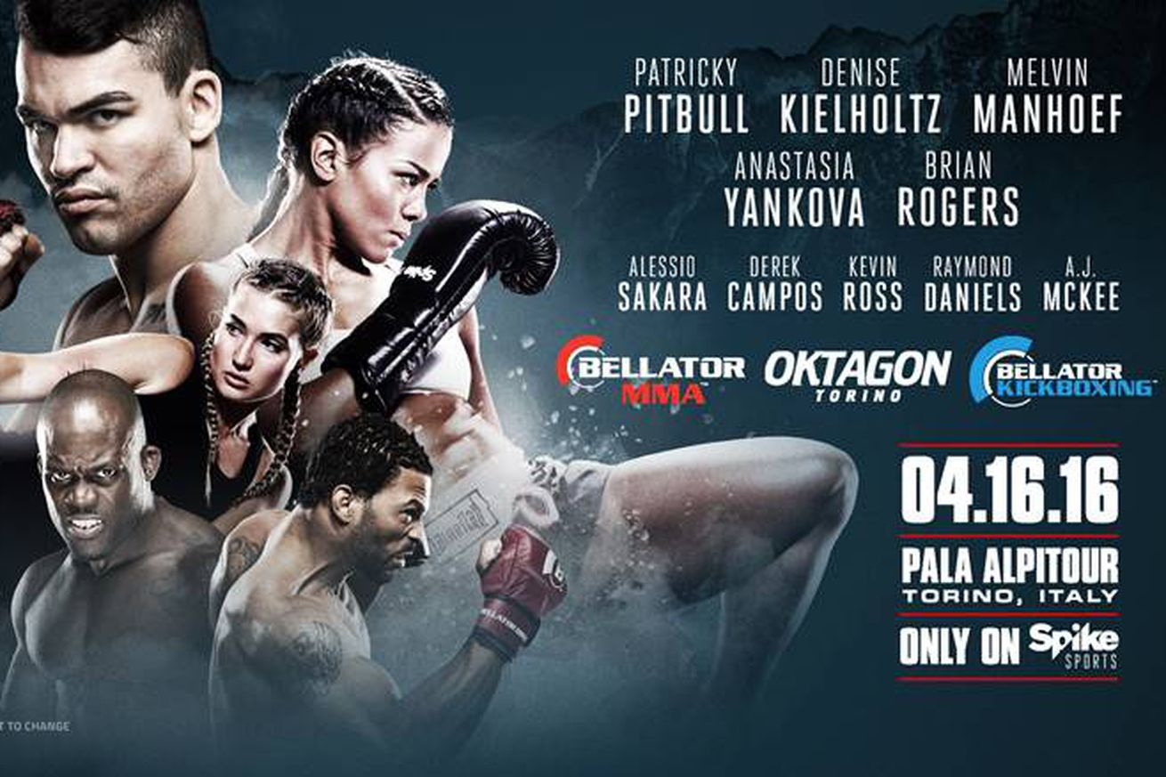 community news, Broadcast details revealed for Bellator MMA Kickboxing event on April 16 in Italy