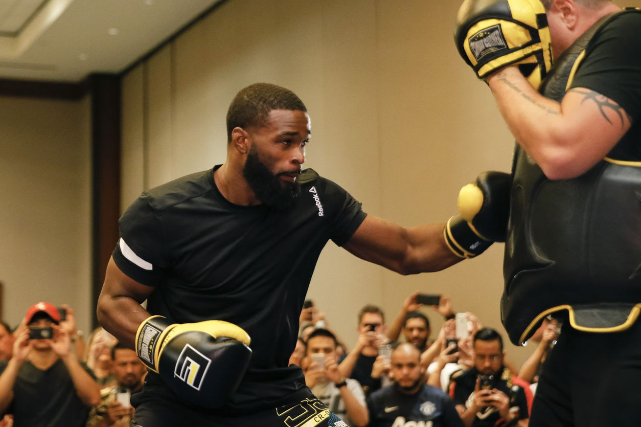 community news, Tyron Woodley never lost hope hed get shot at Robbie Lawlers title