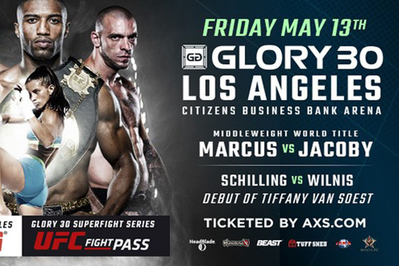 GLORY 30 preview and predictions for Simon Marcus vs Dustin Jacoby on ESPN3