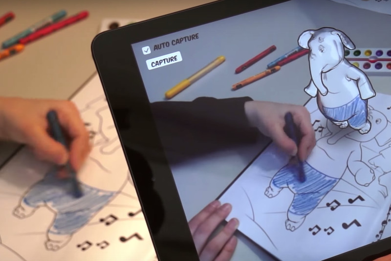 Disney is using augmented reality to bring coloring books to life