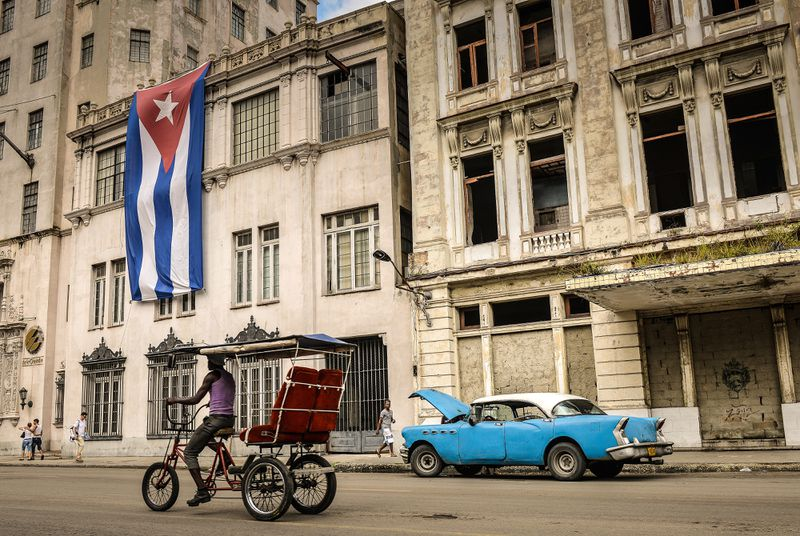 Downtown Havana (ADALBERTO ROQUE/AFP/Getty)