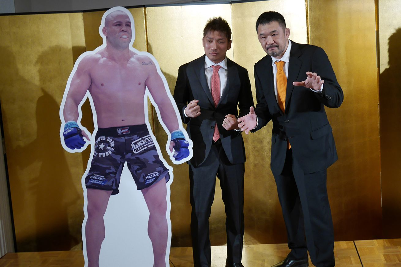 community news, Wanderlei Silva, Kazushi Sakuraba in opposite sides for grappling tag match at Rizin FF