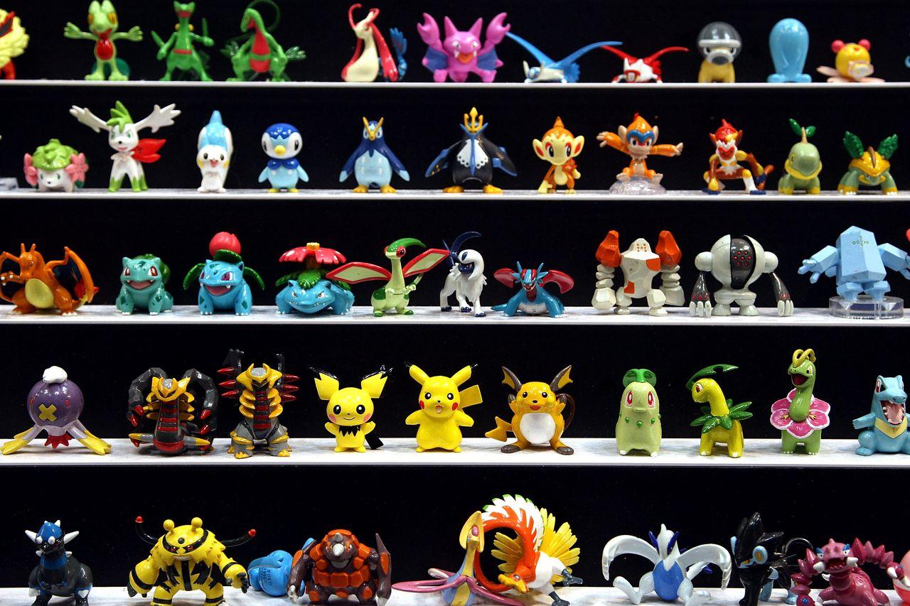 Pokemon Go uses augmented reality