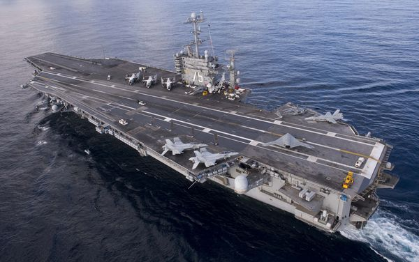 The USS Harry S. Truman, pictured in 2012.