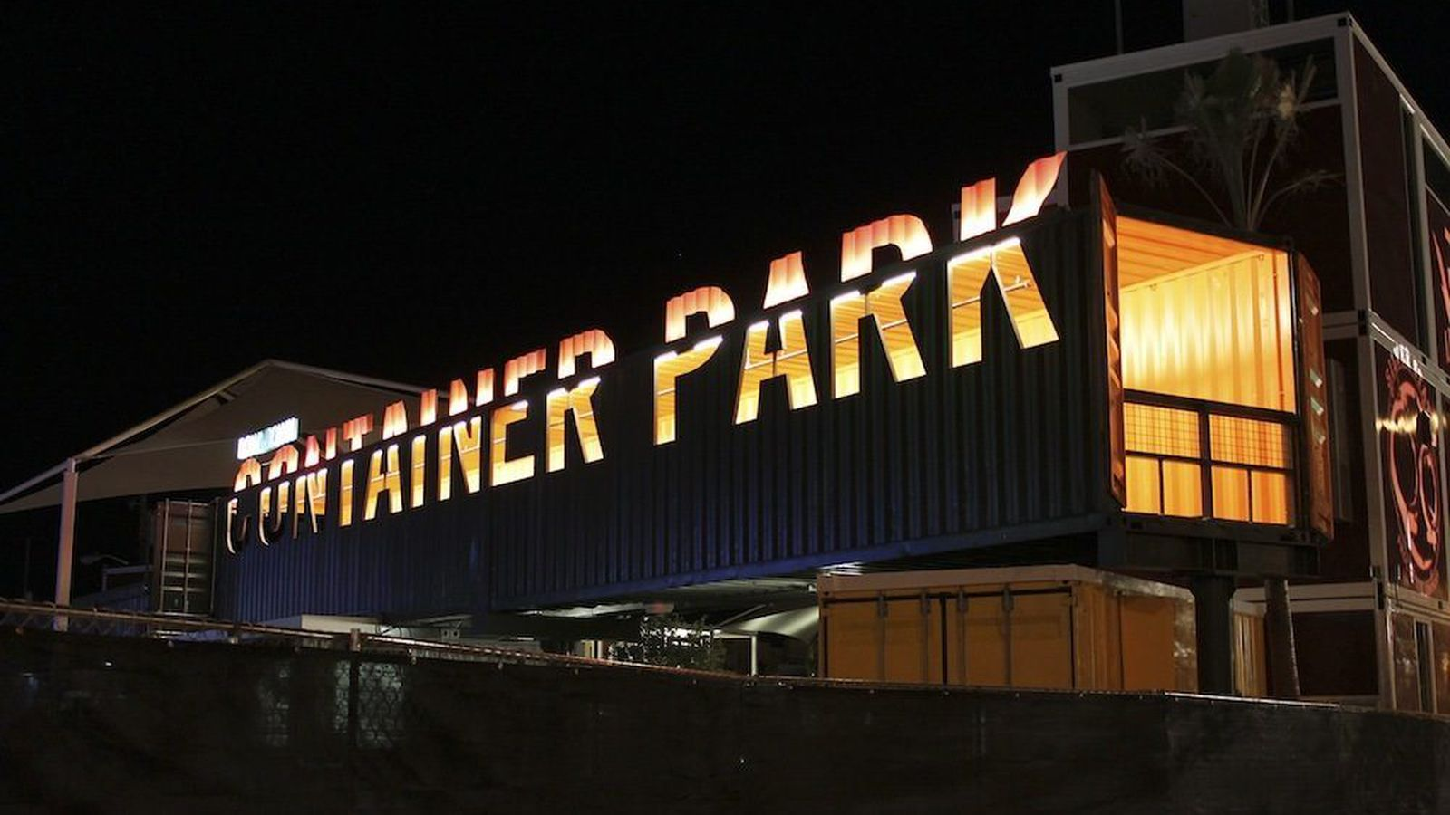 Your first inside guide to the downtown container park eater vegas - Container homes las vegas ...