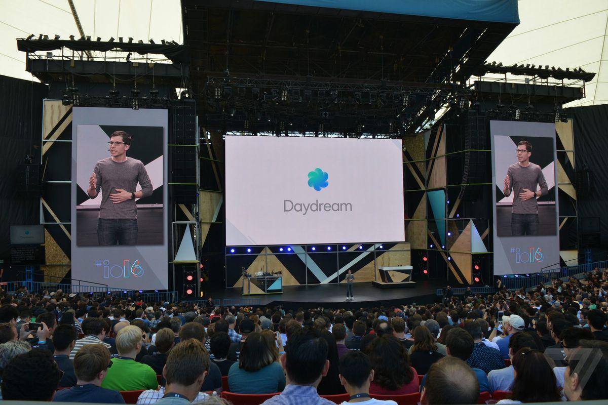 Daydream ที่ Google I / O 2016 ภาพถ่ายประกาศ