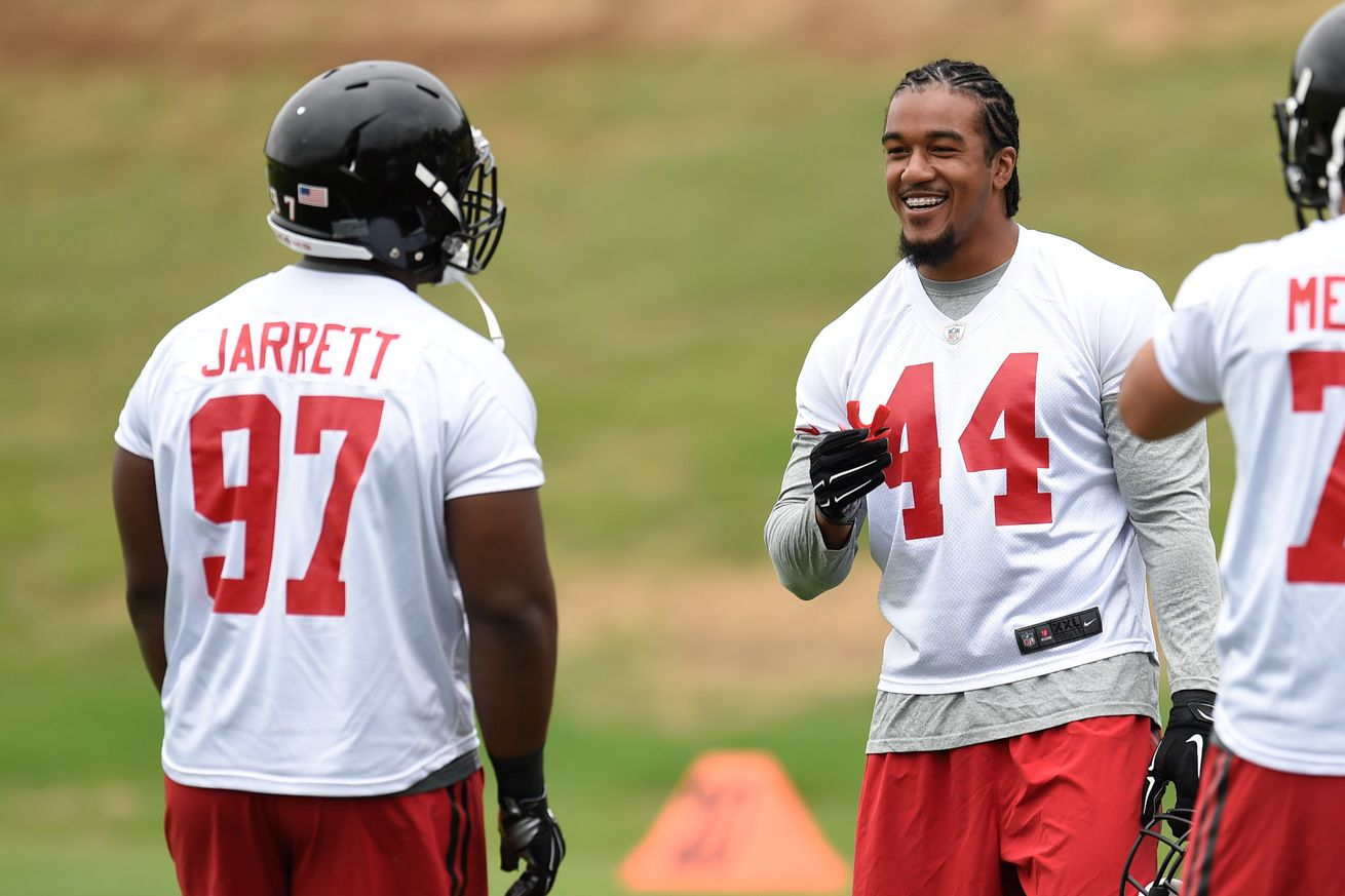 Jerseys NFL Sale - How the Falcons' defensive personnel stacks up to 2014's personnel ...