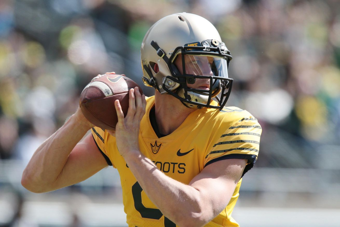 Is Oregon about to unleash another overlooked Texan QB?