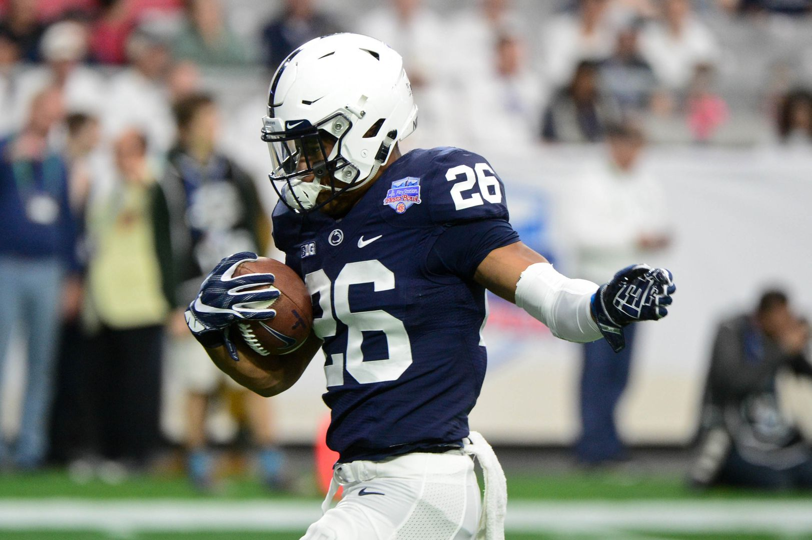 competitive price ebe47 77a78 7 signs Saquon Barkley was one of NFL Combine's best ever ...
