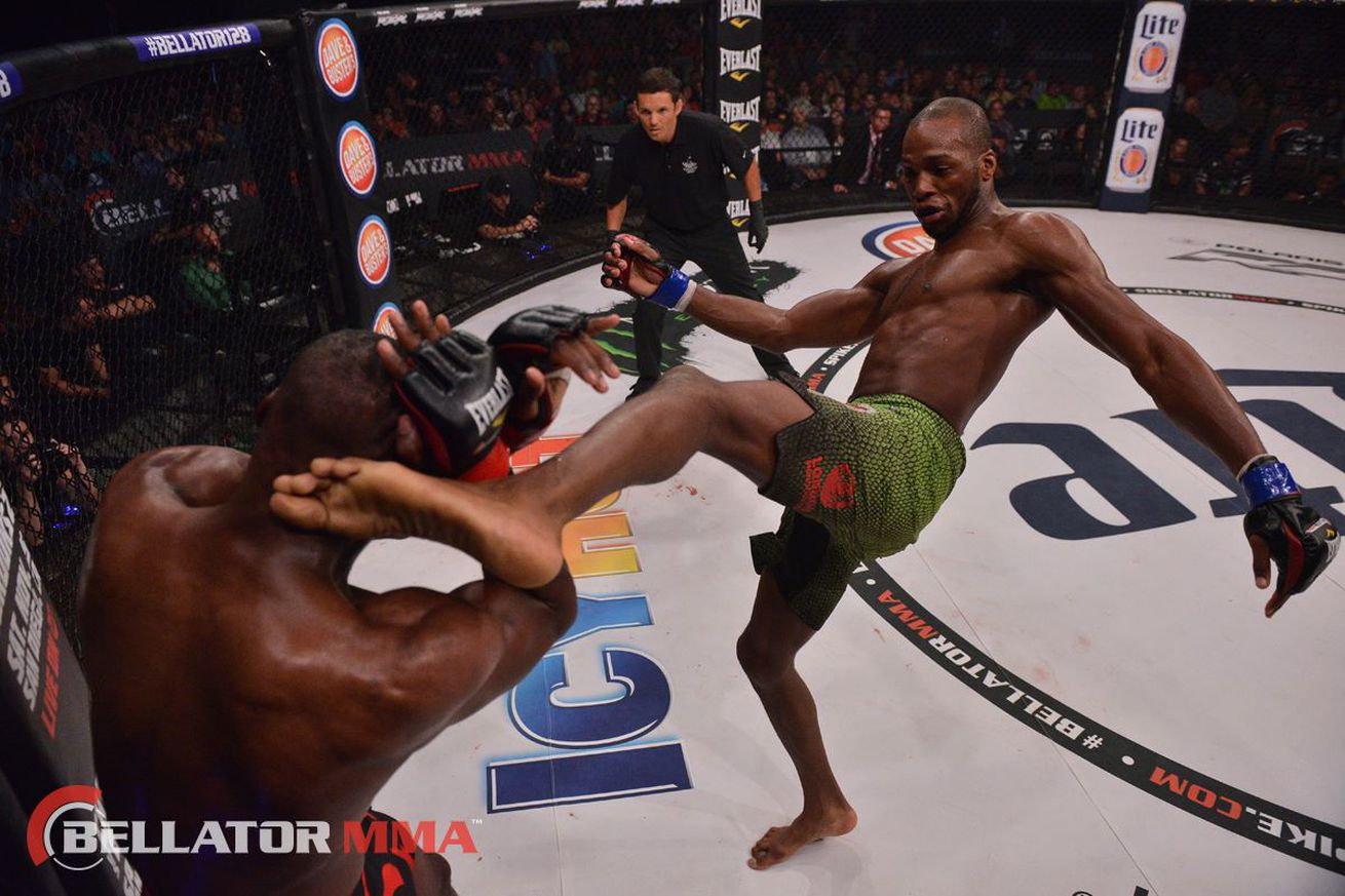 Michael Page ready for contention, says he's 'ridiculously happy at Bellator'