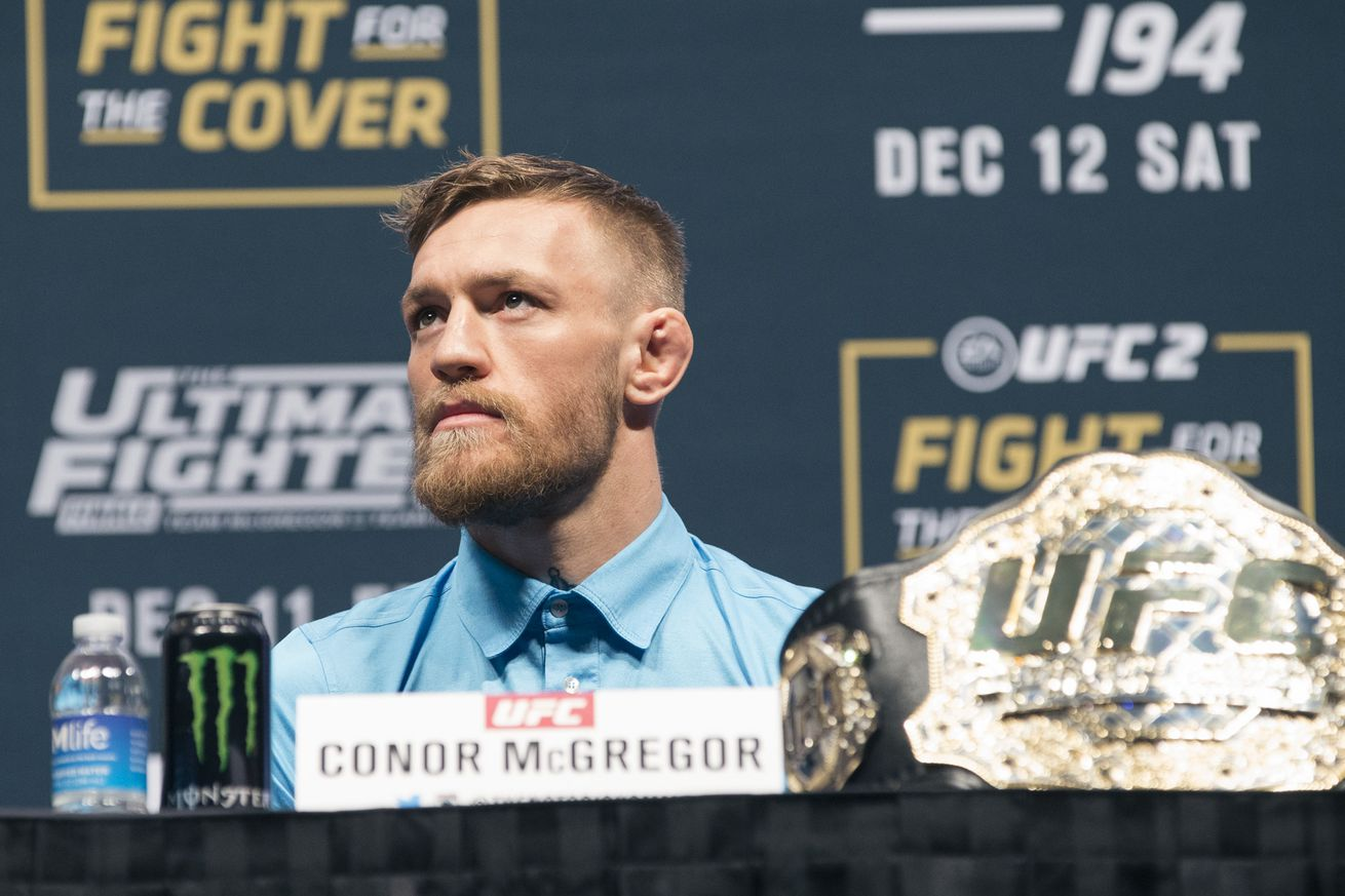 Morning Report: Conor McGregor calls Joao Carvalhos death f**ked up and says Im just making sure it aint me.