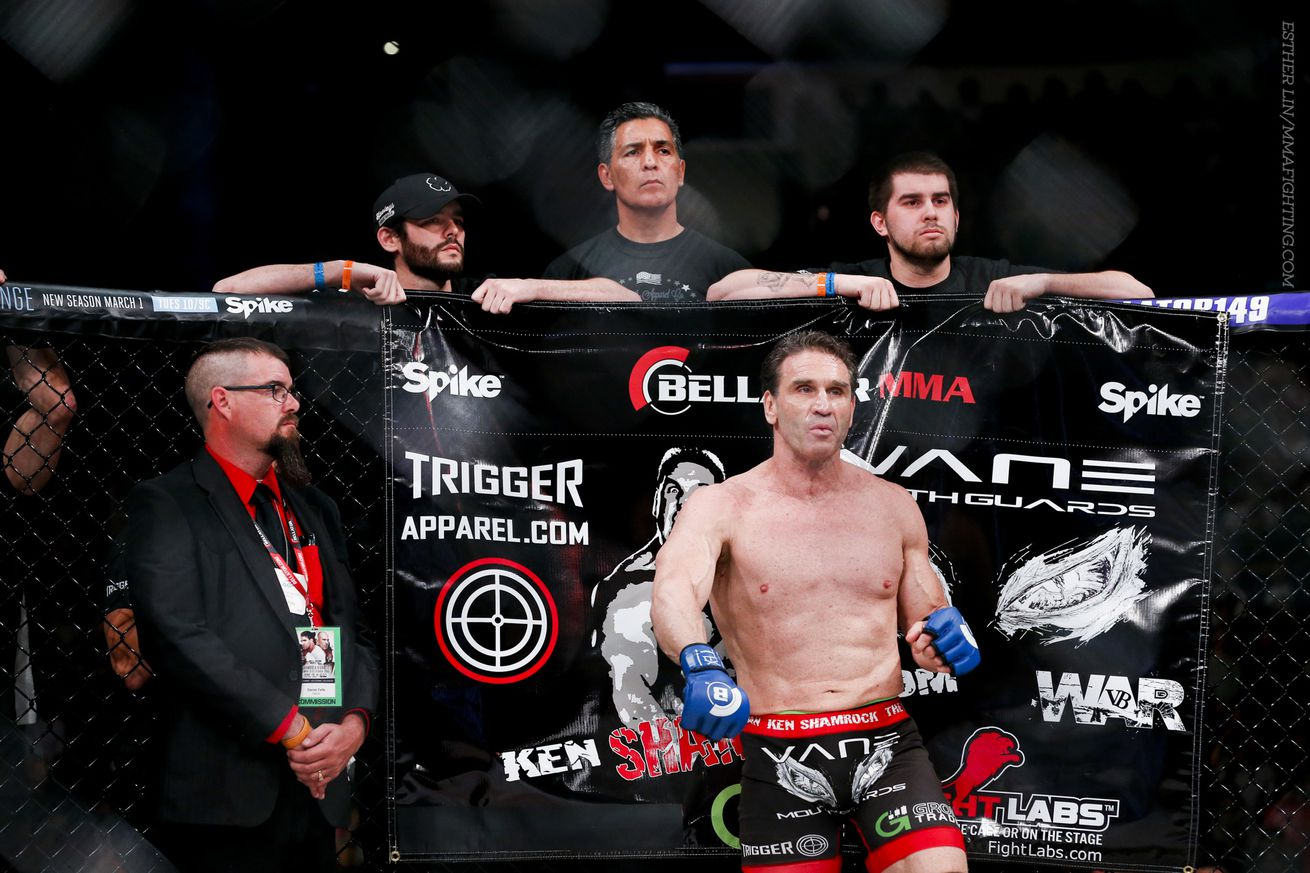 community news, Ken Shamrock's fight license revoked in Texas after positive steroid test