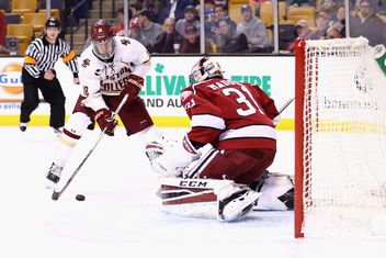 NCAA: Beanpot - Puck Possession Is King