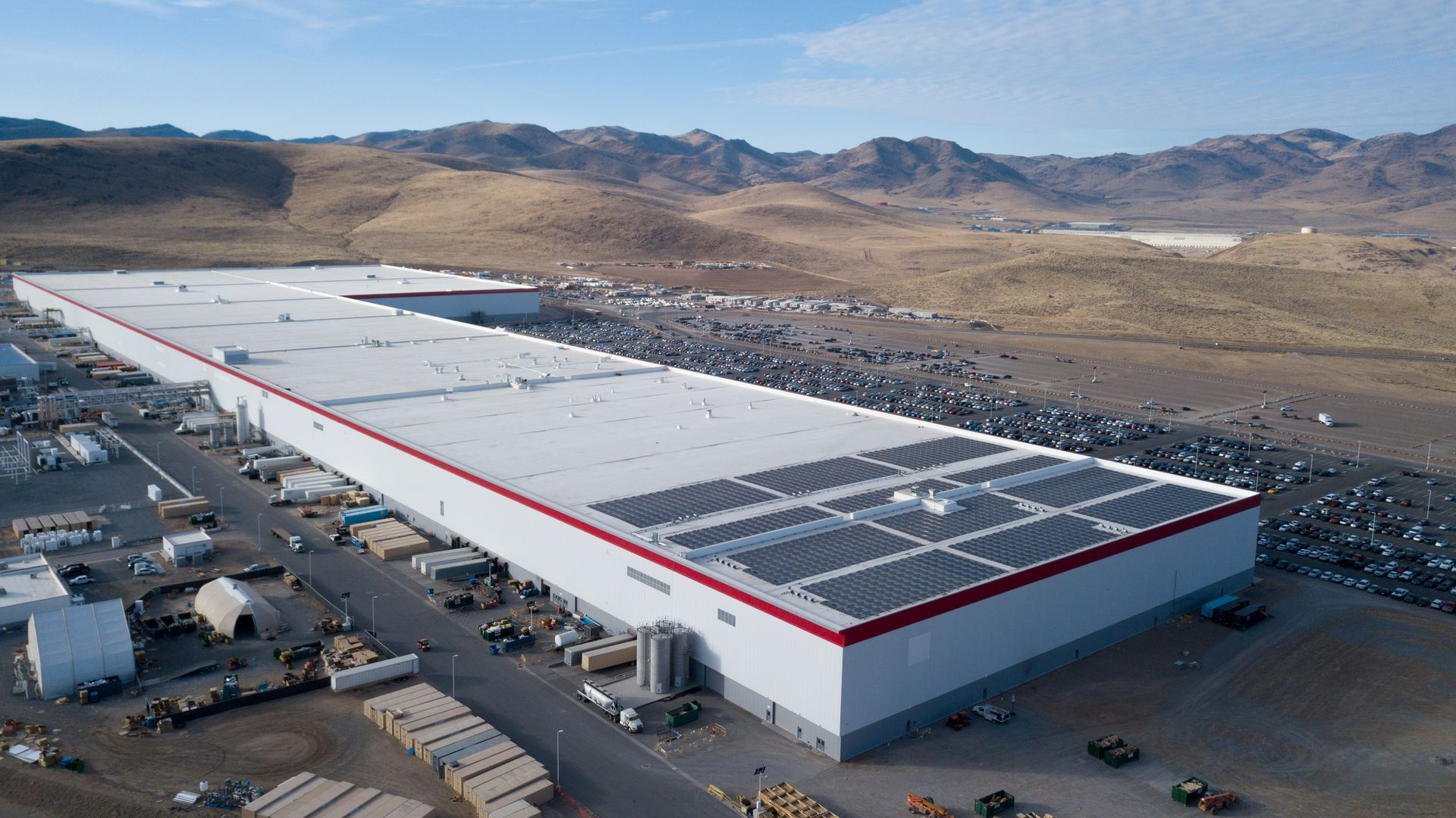 Powering The Tesla Gigafactory Energy Matters