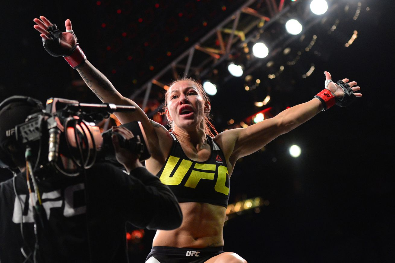 Cris Cyborg explains why she didnt call Ronda Rousey out after KO win at UFC 198