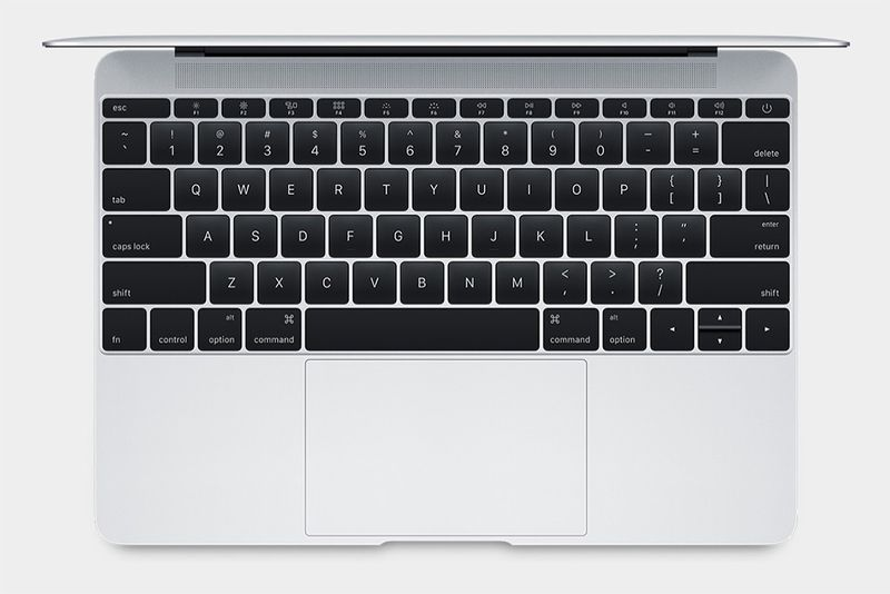 The new MacBook comes with full-size, much thinner and accurate keyboard