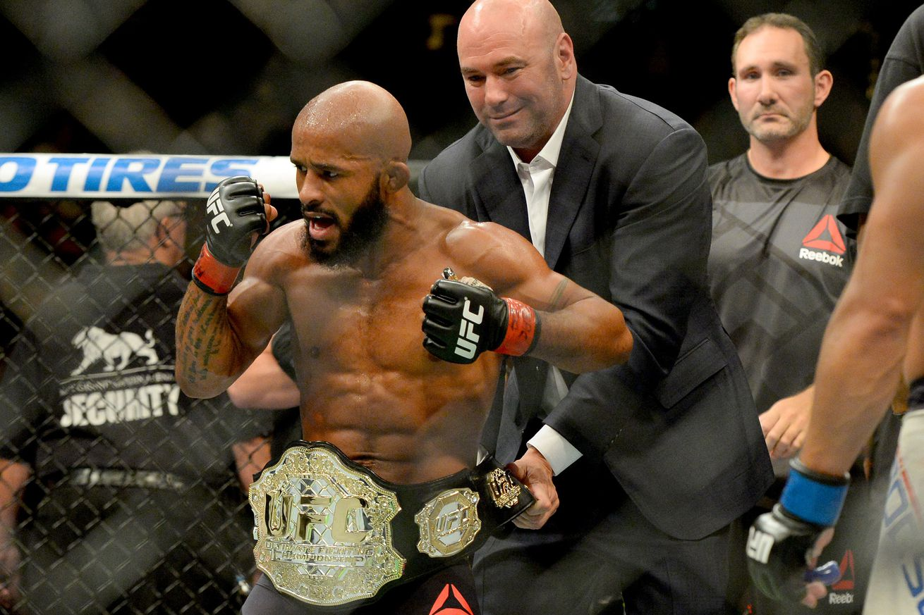 Demetrious Johnson signs new eight fight contract extension with UFC