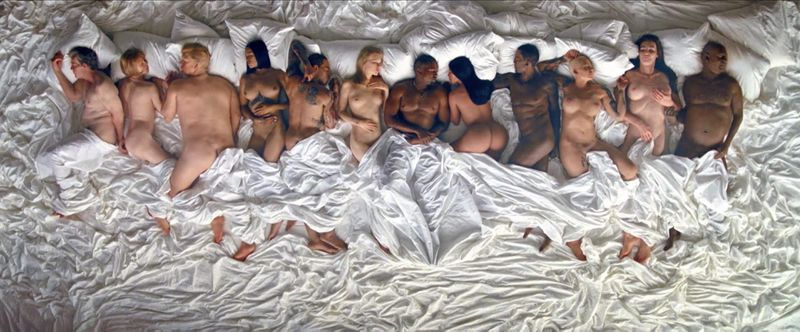 Kanye West's Film Clip For Famous
