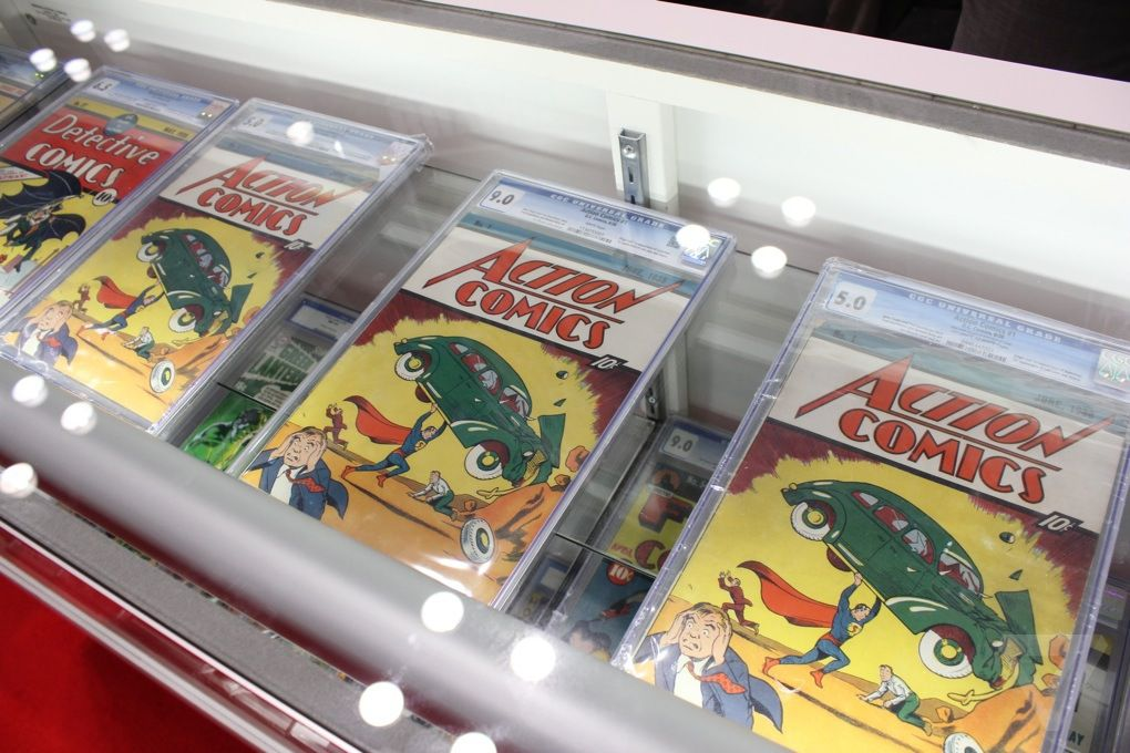 I saw the world's most expensive comic book (and it looked like a ...